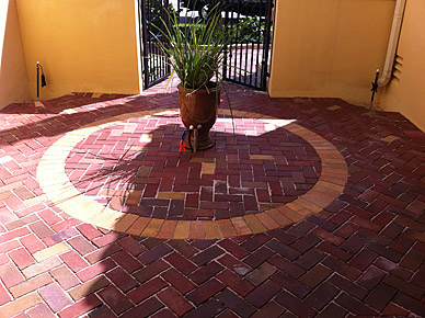 Clay Brick Pavers West Palm Beach Florida Fl