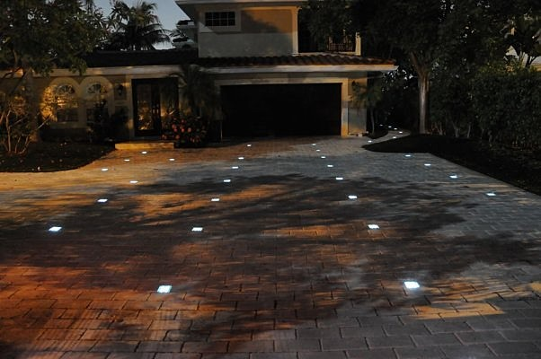 Solar Paver Lights West Palm Beach Florida Fl