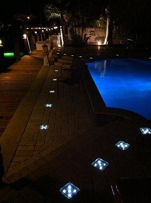 Solar Paver Lights West Palm Beach Florida Fl